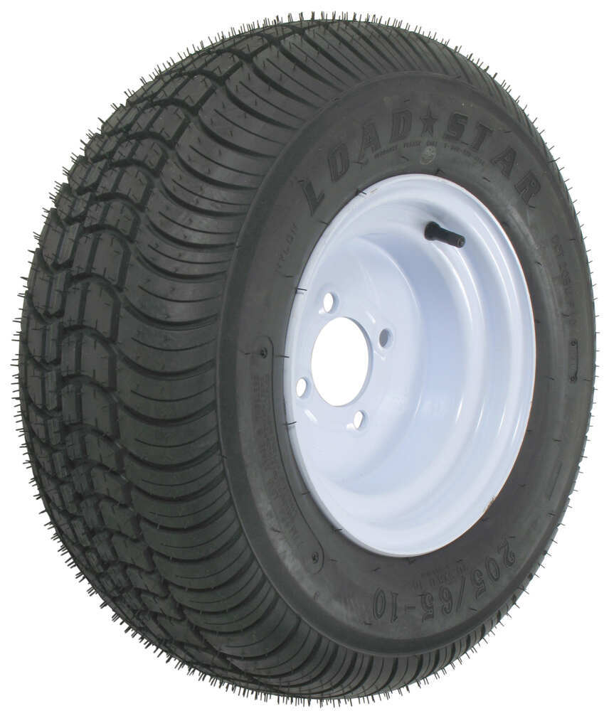 Trailer Tires and Wheels AM3H330 - Steel Wheels - Powder Coat - Kenda