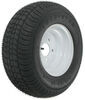 "Kenda 205/65-10 Bias Trailer Tire with 10"" White Wheel - 5 on 4-1/2 - Load Range B 10 Inch AM3H350"
