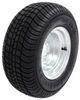 "Kenda 205/65-10 Bias Trailer Tire with 10"" Galvanized Wheel - 4 on 4 - Load Range D Bias Ply Tire AM3H420"