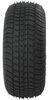 "Kenda 205/65-10 Bias Trailer Tire with 10"" Galvanized Wheel - 4 on 4 - Load Range D 4 on 4 Inch AM3H420"