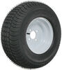 kenda trailer tires and wheels 10 inch 4 on 205/65-10 bias tire with white wheel - load range e