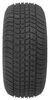 "Kenda 205/65-10 Bias Trailer Tire with 10"" White Wheel - 5 on 4-1/2 - Load Range E 10 Inch AM3H480"
