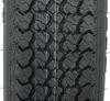 "Loadstar ST175/80D13 Bias Trailer Tire with 13"" Galvanized Wheel - 4 on 4 - Load Range B Good Rust Resistance AM3S040"