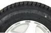"Loadstar ST175/80D13 Bias Trailer Tire with 13"" Aluminum Wheel - 4 on 4 - Load Range B 13 Inch AM3S101"