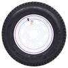 "Loadstar ST175/80D13 Bias Trailer Tire with 13"" White Wheel - 5 on 4-1/2 - Load Range C 13 Inch AM3S140"