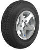 kenda trailer tires and wheels 13 inch 5 on 4-1/2 loadstar st175/80d13 bias tire with aluminum wheel - load range c