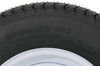 "Loadstar ST185/80D13 Bias Trailer Tire w/13"" White Modular Wheel - 5 on 4-1/2 - Load Range D Load Range D AM3S333"