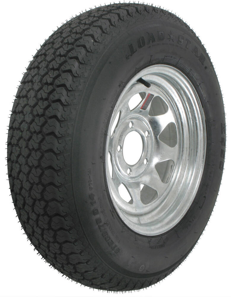 AM3S360 - 5 on 4-1/2 Inch Kenda Trailer Tires and Wheels