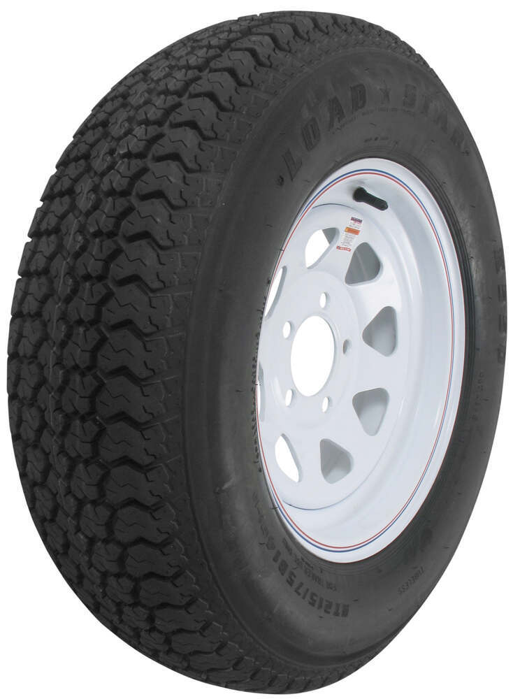 Trailer Tires and Wheels AM3S550 - Standard Rust Resistance - Kenda
