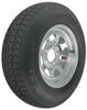"Loadstar ST215/75D14 Bias Trailer Tire with 14"" Galvanized Wheel - 5 on 4-1/2 - Load Range C 14 Inch AM3S560"