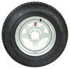 "Loadstar ST205/75D15 Bias Trailer Tire w/ 15"" Galvanized Wheel - 5 on 4-1/2 - Load Range C Good Rust Resistance AM3S650"