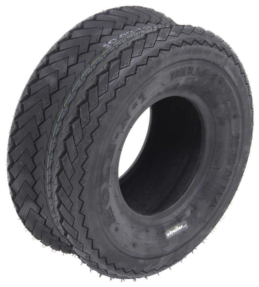 Trailer Tires and Wheels AM40537 - 8 Inch - Kenda
