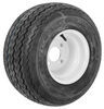 kenda trailer tires and wheels 8 inch 4 on 18x8.50-8 bias golf cart tire with white wheel - load range b
