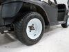 "Kenda 205/50-10 Bias Golf Cart Tire with 10"" White Wheel - 4 on 4 - Load Range B 10 Inch AM90016"