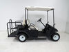 "Kenda 205/50-10 Bias Golf Cart Tire with 10"" White Wheel - 4 on 4 - Load Range B Bias Ply Tire AM90016"