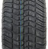 "Kenda 205/50-10 Bias Golf Cart Tire with 10"" White Wheel - 4 on 4 - Load Range B 205/50-10 AM90016"