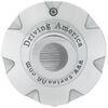americana wheel accessories  15 inch wheels trailer center cap - chrome 3.19 pilot