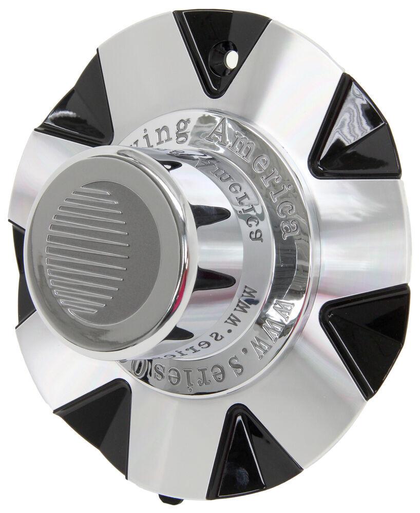 AM90092B - Front and Rear Wheels Americana Vehicle Wheel Center Cap