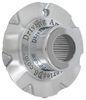 """Americana Trailer Wheel Center Cap - Chrome - 3.19"""" Pilot - 14"""" Wheels Chrome AM90098"""