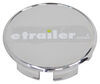 "Americana Trailer Wheel Center Cap w/ Plug - Chrome Plated - 3.33"" Pilot 13 Inch Wheels,14 Inch Wheels AM90195"