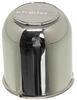 """Americana Trailer Wheel Center Cap w/ Plug - Chrome Plated - 3.33"""" Pilot Chrome AM90195"""