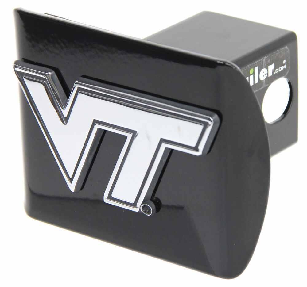 """Virginia Tech University Chrome Logo Emblem 2"""" Hitch Cover Square AMG100710"""