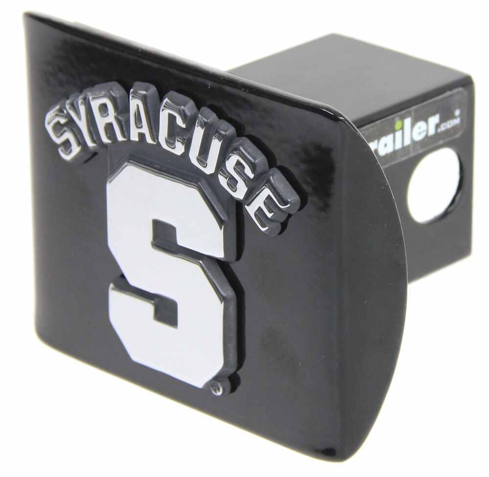"""Syracuse 2"""" Trailer Hitch Receiver Cover - Chrome Logo Square AMG102172"""