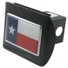 Texas State Flag Color Emblem 2 Inch Hitch Cover