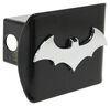 "Batman Logo Trailer Hitch Receiver Cover - 2"" Hitches - Chrome Emblem Happy Fun Covers AMG102808"