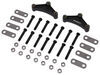 "Suspension Kit for Tandem-Axle Trailers - 1-3/4"" Wide Double Eye Springs - 2-1/4"" Links Double Eye Springs AP233"