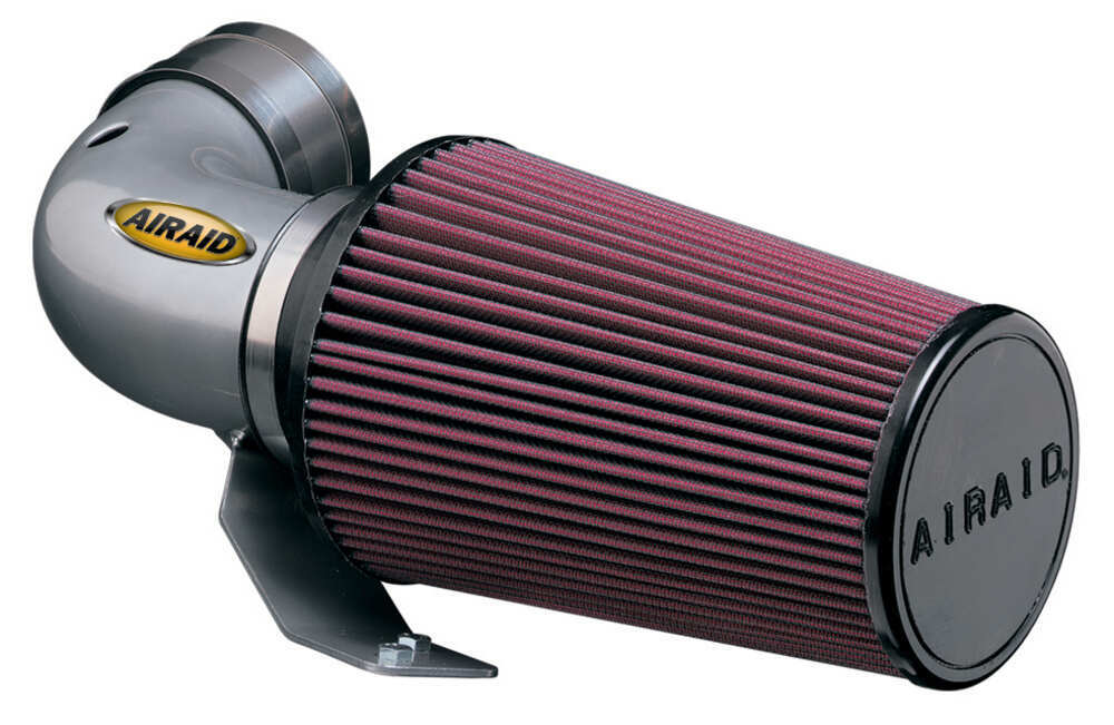 Airaid Classic Cold Air Intake System with SynthaMax Dry Filter - Open - Silver No Box AR201-102