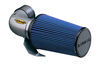 airaid air intakes intake system open box/heat shield classic cold with synthamax dry filter - blue