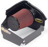 airaid cold air intakes open box/heat shield no tube cad intake system with synthaflow oiled filter - stage 1