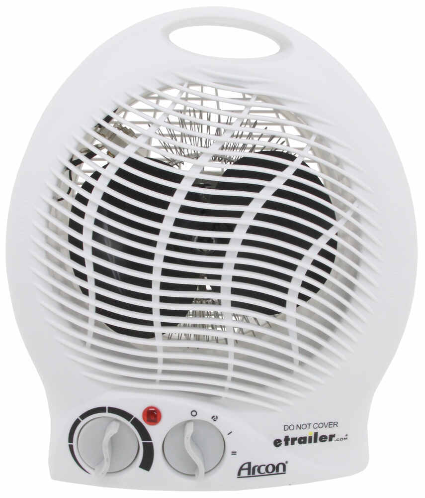 Arcon Portable Electric Heater with Tip-Over Safety Switch - 1,500 Watts AR64408