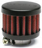 airaid breather filter 1-1/2 inch 3/4 with rubber top - clamp on id