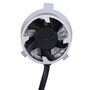arc headlights replacement bulbs dual beam h4 led headlight - 4 565 lumens cool white qty 2