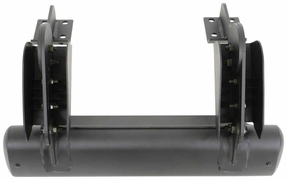 04-17 Nissan Titan Crew Cab MPH 4 inch Black Side Step Nerf Bars Rail Running Board