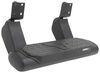 "Bully Alpha Series 5"" Adjustable Aluminum Side Step - Black Fixed Step AS-9000TX"