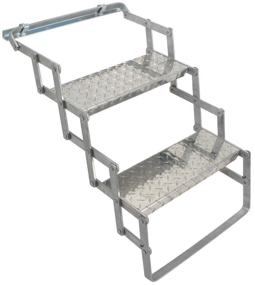 AS02 - Aluminum Brophy RV and Camper Steps