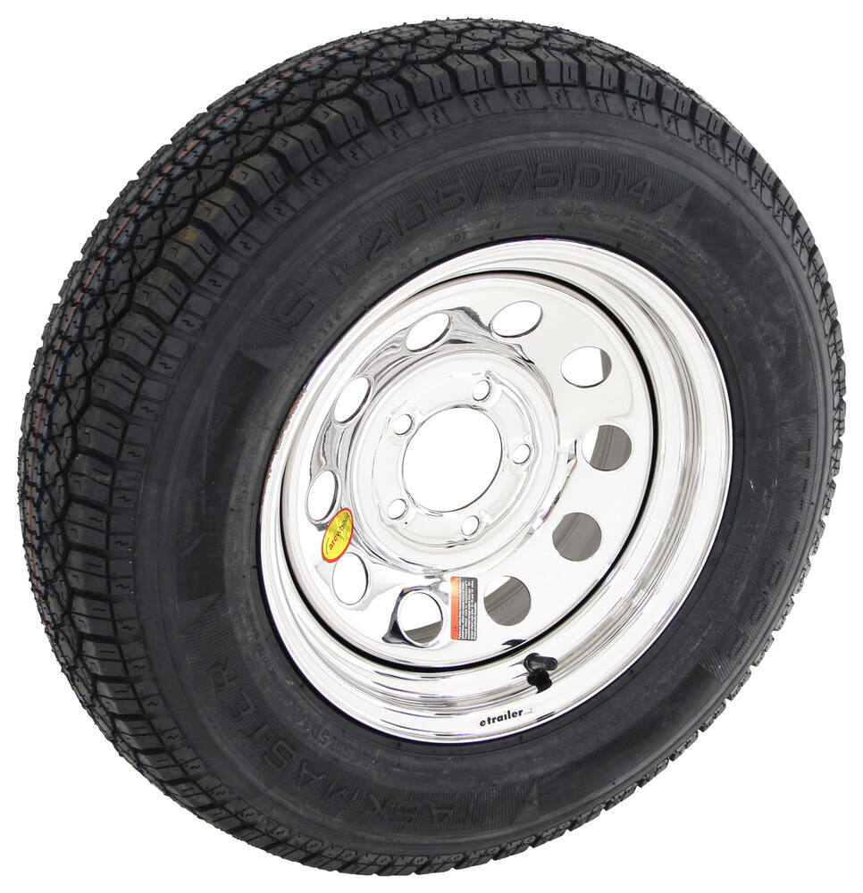 Taskmaster Steel Wheels - PVD,Boat Trailer Wheels Trailer Tires and Wheels - AS14B45SMPVD