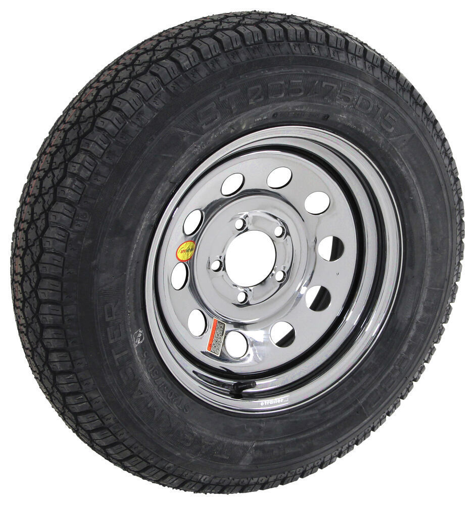 AS15B645BMPVD - Steel Wheels - PVD,Boat Trailer Wheels Taskmaster Trailer Tires and Wheels