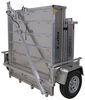 apogee trailers utility 6w x 12l foot adapt-x 700 folding trailer - 6' wide 12' long 2 712 lbs