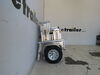 0  trailers apogee utility adapt-x 300 folding trailer - 4' wide x 8' long 2 712 lbs
