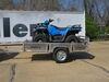 0  trailers apogee utility 4w x 8l foot adapt-x 300 folding trailer - 4' wide 8' long 2 712 lbs