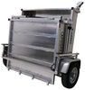 apogee trailers utility folding adapt-x 500 trailer - 5' wide x 10' long 2 712 lbs