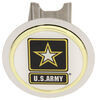 AUT-ARMY-C - Round Au-Tomotive Gold Hitch Covers