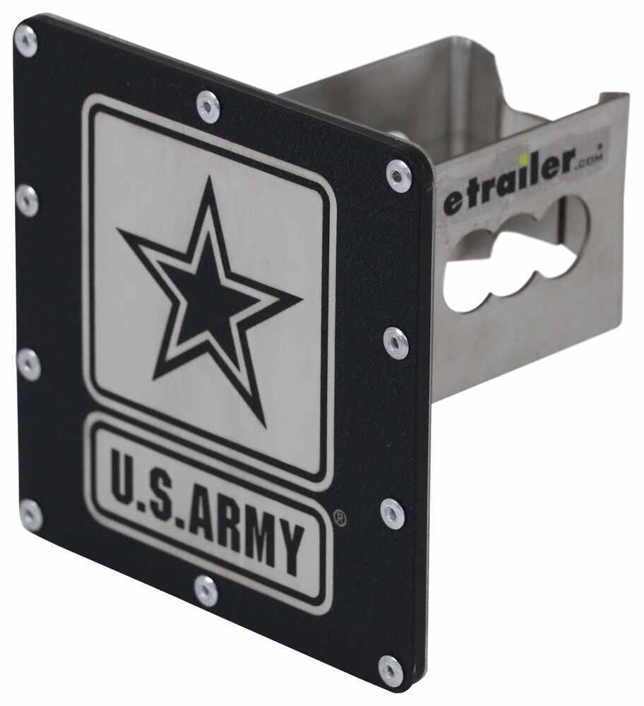 AUT-ARMY-RB - Fits 2 Inch Hitch Au-Tomotive Gold Hitch Covers