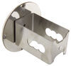 """Blank Round Trailer Hitch Cover - 2"""" Hitches - Stainless Steel - Chrome Round AUT-BNK-C"""