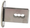 """Blank Round Trailer Hitch Cover - 2"""" Hitches - Stainless Steel - Chrome Fits 2 Inch Hitch AUT-BNK-C"""