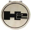 """Hummer 2 Trailer Hitch Cover - 2"""" Hitches - Stainless Steel - Chrome Standard AUT-H2-C"""